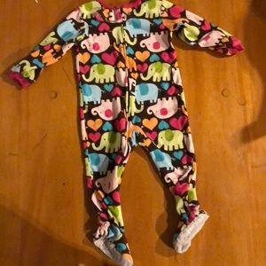 Soft pajama onesie
